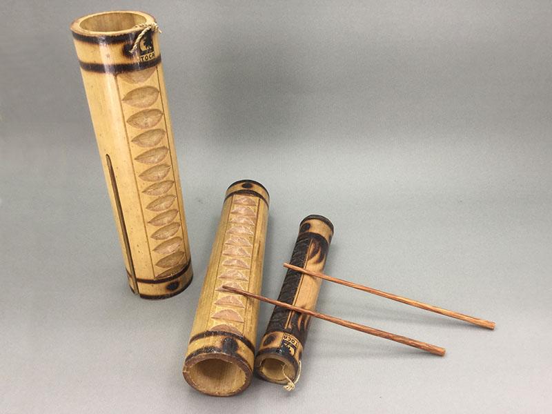 バンブーギロ:竹製のギロ