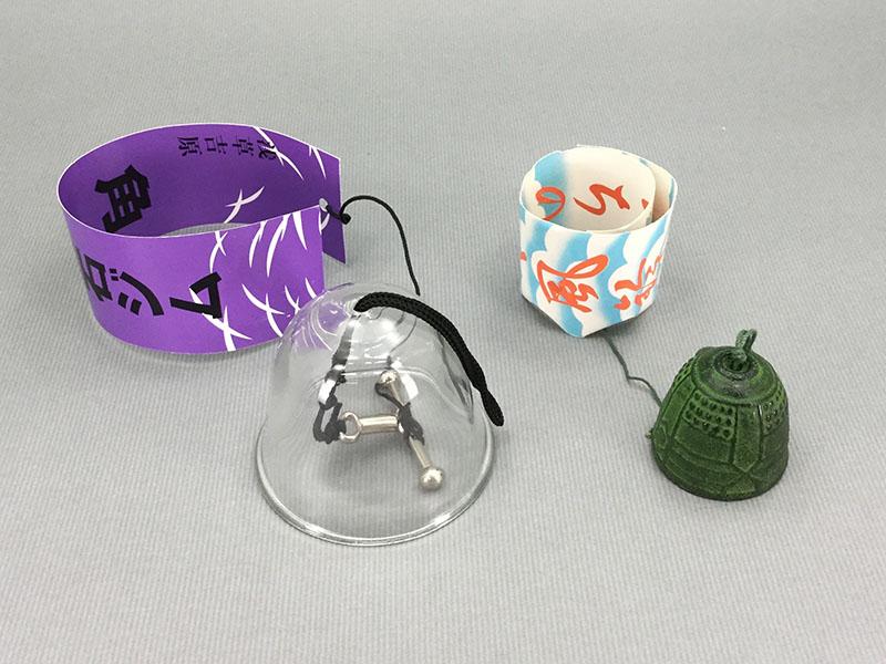 風鈴:外身がガラスと金属の風鈴